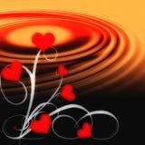 Amor crescente   Ilustração Royalty Free