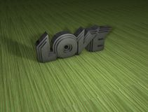 AMOR 3D Fotos de Stock Royalty Free