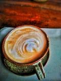 Amor da caneca do copo do café do café mim café do coração Fotografia de Stock Royalty Free