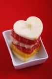 Amor da fruta Imagem de Stock