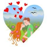 Amor da mola Imagens de Stock