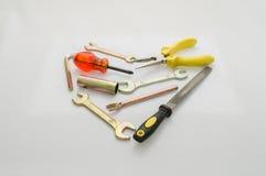 Amor das ferramentas dos Valentim Foto de Stock