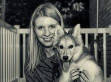 Amor de cachorrinho do vintage Imagens de Stock