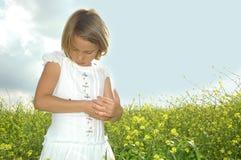 Amor de Childs foto de archivo libre de regalías