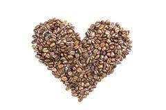 Amor de Coffe Fotografía de archivo libre de regalías