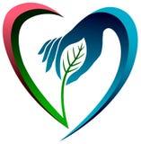 Amor de Eco Imagens de Stock