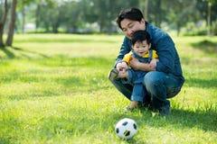 Amor de Father?s Imagen de archivo libre de regalías
