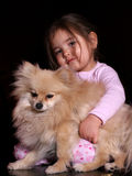 Amor de filhote de cachorro Fotos de Stock