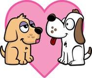 Amor de filhote de cachorro Imagens de Stock Royalty Free