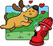 Amor de filhote de cachorro Imagem de Stock Royalty Free