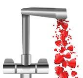 Amor de flujo libre. Imagenes de archivo