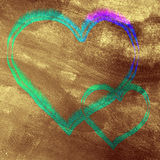 Amor de Grunge Imagenes de archivo
