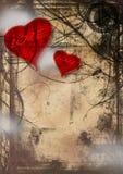 Amor de Grunge Foto de archivo libre de regalías