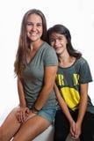 Amor de irmã para sempre Imagem de Stock Royalty Free