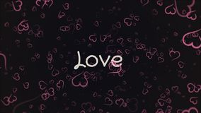 Amor de la animaci?n, tarjeta de felicitaci?n libre illustration
