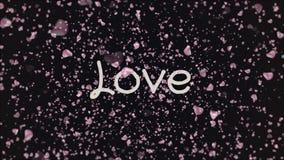 Amor de la animaci?n, tarjeta de felicitaci?n ilustración del vector