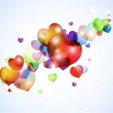 Amor de la burbuja Foto de archivo