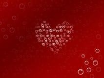 Amor de la burbuja Fotografía de archivo