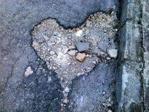 Amor de la calle Foto de archivo libre de regalías