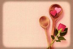Amor de la cocina fina Fotos de archivo
