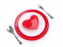Amor de la comida Fotos de archivo