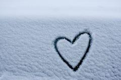Amor de la dimensión de una variable del corazón Fotografía de archivo