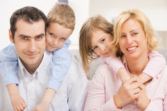Amor de la familia Foto de archivo libre de regalías