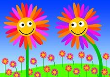 amor de la flor stock de ilustración
