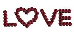 Amor de la gente no sólo el día de tarjeta del día de San Valentín Fotos de archivo
