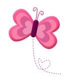 Amor de la mariposa Fotografía de archivo