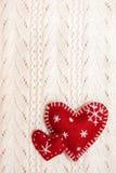 Amor de la Navidad Fotografía de archivo