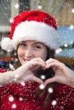 Amor de la Navidad Imagenes de archivo