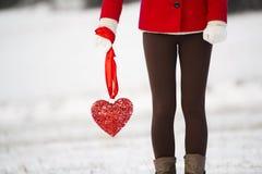 Amor de la nieve Imagen de archivo