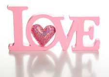 Amor de la palabra fotografía de archivo