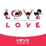 Amor de la palabra Imagen de archivo libre de regalías