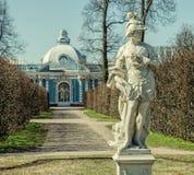 Amor de la Patria-standbeeld in Catherine Park in Tsarskoye Selo Stock Fotografie