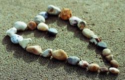 Amor de la playa Imágenes de archivo libres de regalías