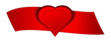 Amor de la tarjeta del día de San Valentín Fotos de archivo libres de regalías