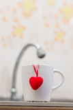 Amor de la taza Imagen de archivo