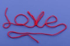 Amor de las lanas Foto de archivo
