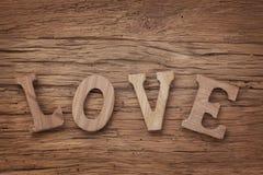 Amor de las letras Imagenes de archivo