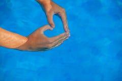 Amor de las vacaciones de verano Foto de archivo
