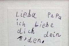 Amor de los niños imagen de archivo libre de regalías