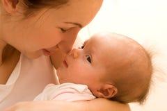 Amor de madre fotos de archivo libres de regalías