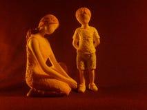 Amor de madre Fotografía de archivo libre de regalías