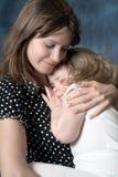 Amor de madre Foto de archivo