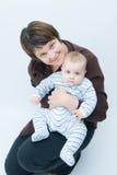 Amor de madres Imágenes de archivo libres de regalías