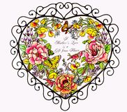 Amor de matriz Imagens de Stock Royalty Free