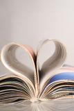 Amor de papel Fotografia de Stock Royalty Free
