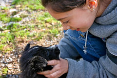 Amor de perrito Fotografía de archivo libre de regalías